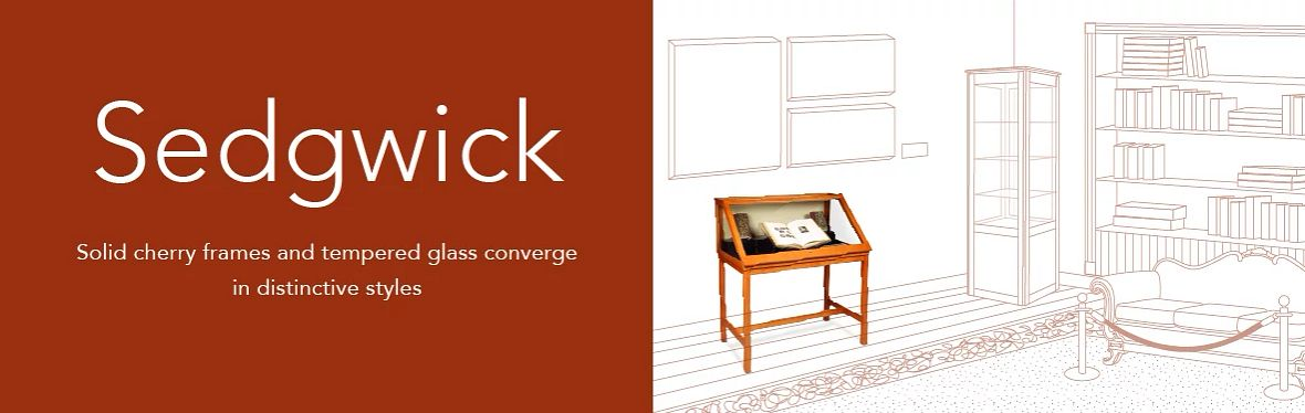 Gaylord Archival® Sedgwick™ Showcases