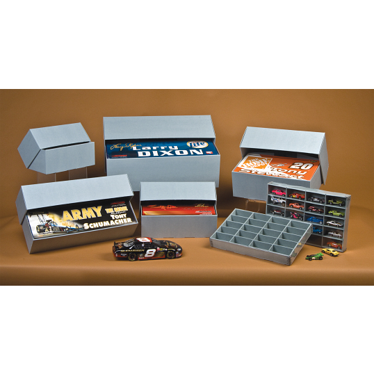 Gaylord Archival® E-flute 1/24 Scale Collectible Top Fuel Drag Car Box