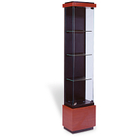 Waddell Quantum Floor-Standing Tower Exhibit Case