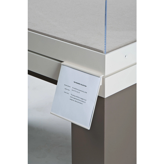 Exterior Label Holder for Gaylord Archival® Metro™ Museum Cases