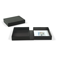 Archival Portfolio Box with Black Lining