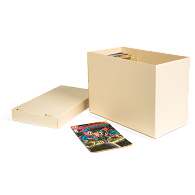 Gaylord Archival® Light Tan B-flute Comic Book Box