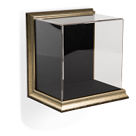 Gaylord Archival® Little Gem Metallic Venice Frame Wall-Mount Exhibit Case