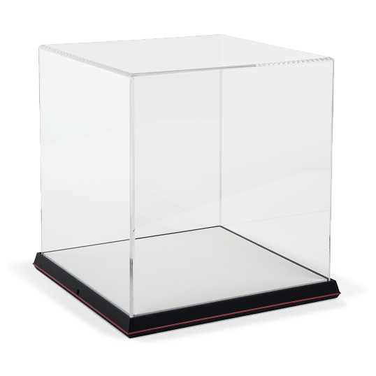 Gaylord Archival® Gem Structure Frame Acrylic Tabletop Case with Linen-Wrapped Interior