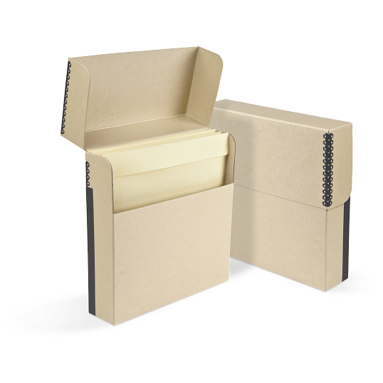 "Gaylord Archival® Flip-Top 16"" LP Record Box"