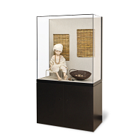 Gaylord Archival® Metro™ Empire Freestanding Museum Wall Case