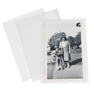 Gaylord Archival® 3 mil Polyester Self-Locking Cabinet Card Sleeves (50-Pack)