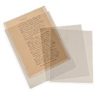 Gaylord Archival® 3 mil Archival Polyester Envelopes with Edge Seal (10-Pack)