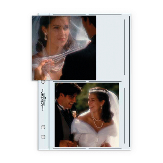 Print File® Clear Polypropylene Standard Album Pages (25-Pack)