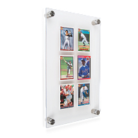 Gaylord Archival® League Trading Card Wall Display for 6 Cards