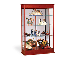 Waddell Varsity Exhibit Case with Mirrored Back & Sliding Door