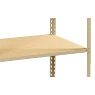 Extra Particle Board Shelf for Tennsco Z-Line Boltless Shelving Units