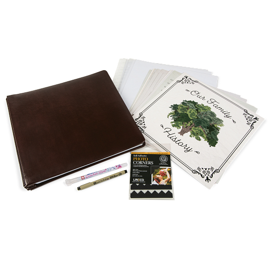 Gaylord Archival® Our Family History Genealogy Album Kit
