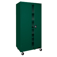 "Sandusky-Lee 72""H Mobile Storage Cabinet"