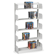 "Estey 84""H Single-Faced Cantilever Steel Shelving"