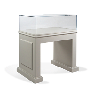 Gaylord Archival® Splendor™ Glory Panel Leg Exhibit Case